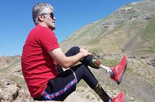 کوهنورد ایرانی که هیچ گاه تسلیم نشد