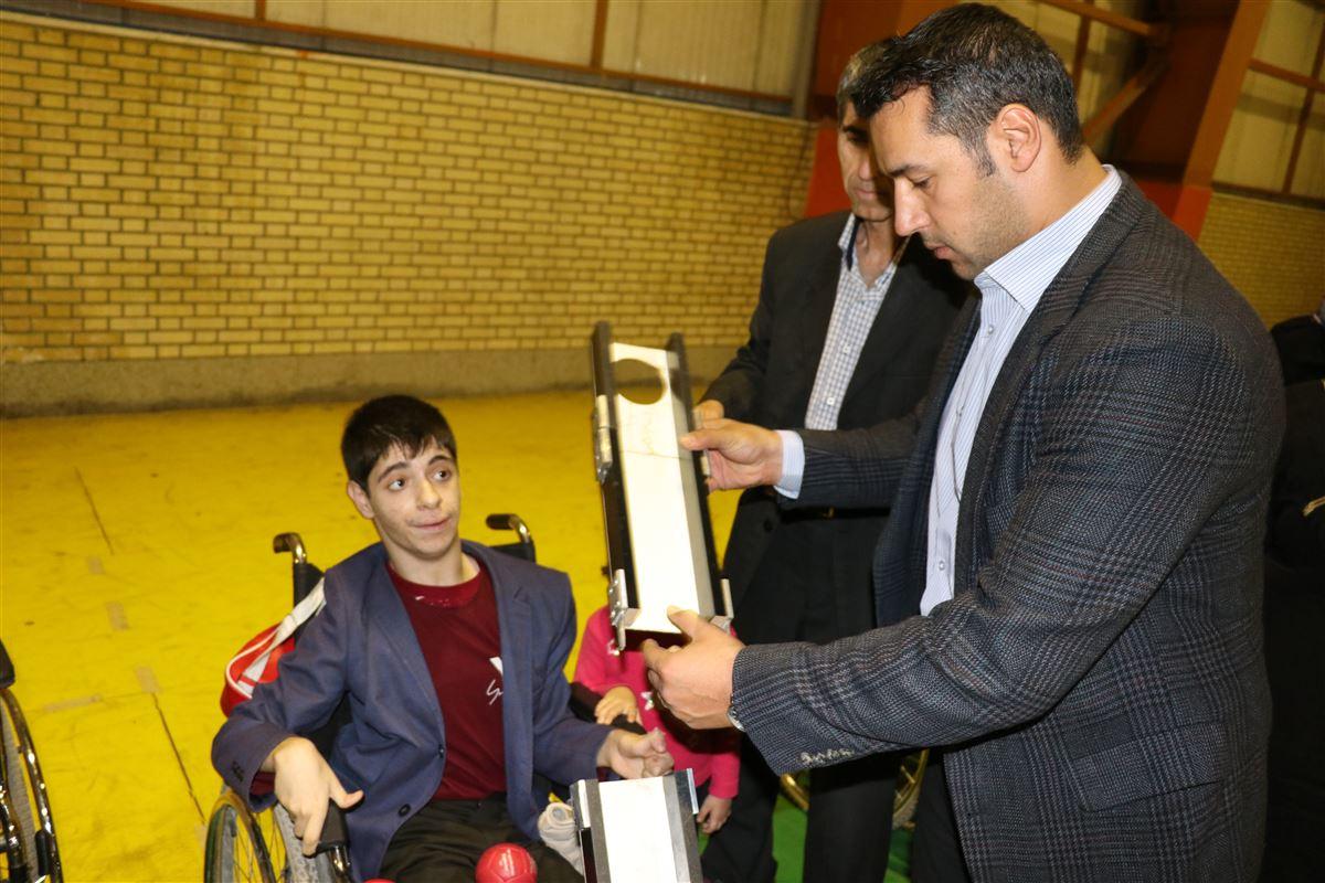 صفر تا صد ورزش بوچیای معلولین