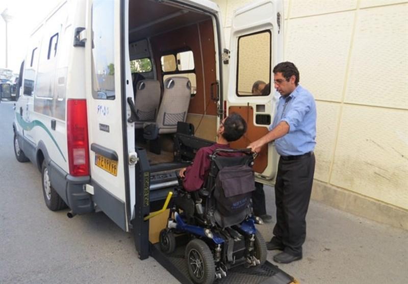 حمل و نقل معلولین و مشکلات پیش روی آنها