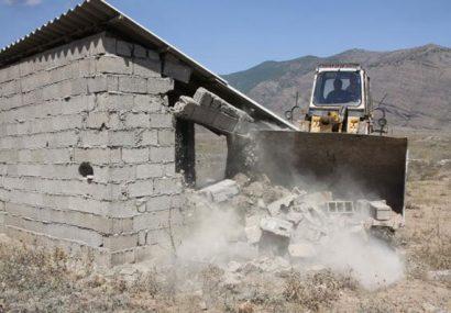 شناسایی ۶٠ واحد ساخت و ساز غیرمجاز در اراضی ملی شهرکرد